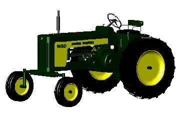 Tractor John Deere 3d