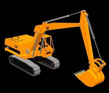 bulldozer 3d