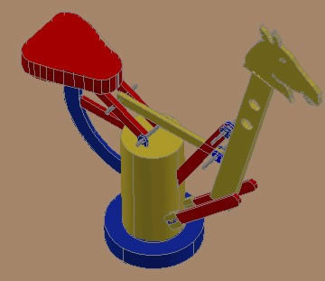 CABALLITO 3D RENDER.