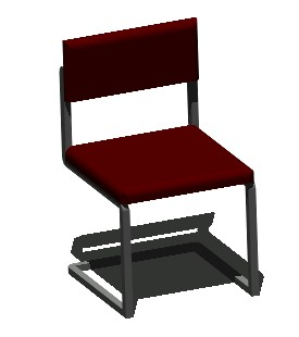 3d chair in AutoCAD | Download CAD free (28 28 KB) | Bibliocad