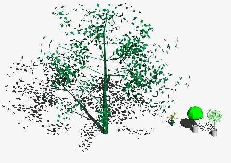 3d trees in AutoCAD | Download CAD free (3 59 MB) | Bibliocad
