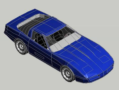 3d Car In Autocad Download Cad Free 128 63 Kb Bibliocad