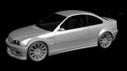 Car Bmw Tunner 3d In Autocad Cad Download 2 23 Mb Bibliocad