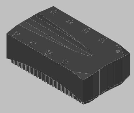 UPS Power battery 3d
