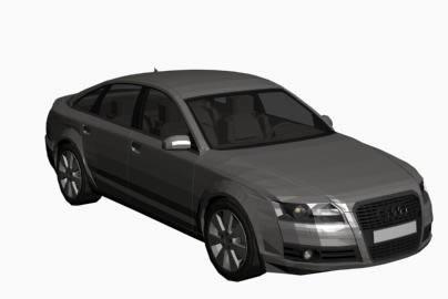 Audi A 6 in 3d