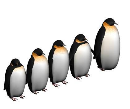 Penguins 3D