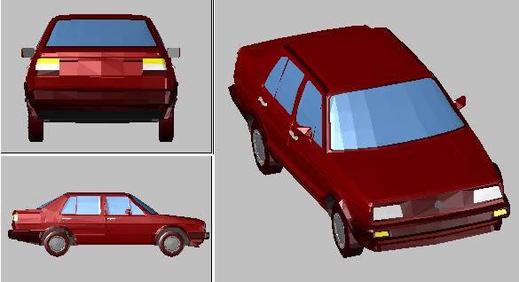 Volkswagen Jetta 3d