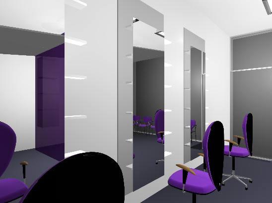 Hairdresser room  3D