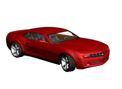 Chevrolet Camaro 3d   - Car
