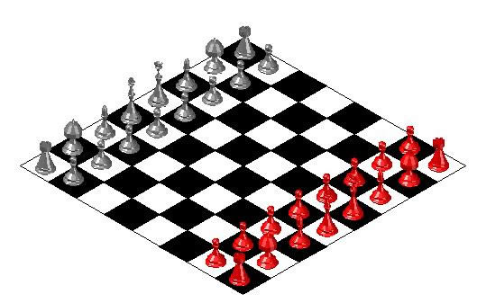 Chess 3d In Autocad Download Cad Free 428 04 Kb