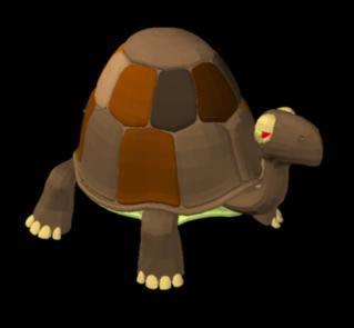 Turtle - Tortoise in 3d