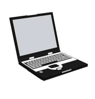 Computadora Portatil 3d En 3ds Descargar Cad 16671 Kb Bibliocad