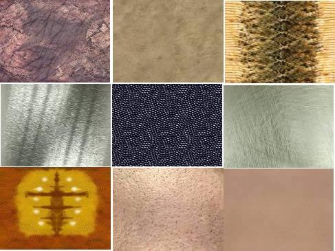 Several textures six part