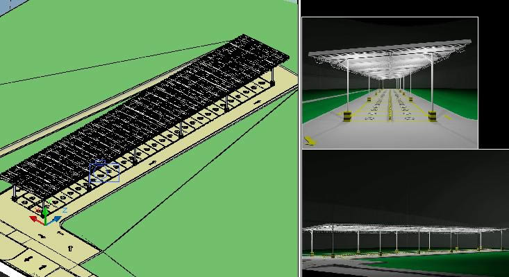 Design Motorcycle Parking In Autocad Cad 9 03 Mb