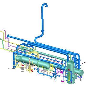 Liquid separator plant