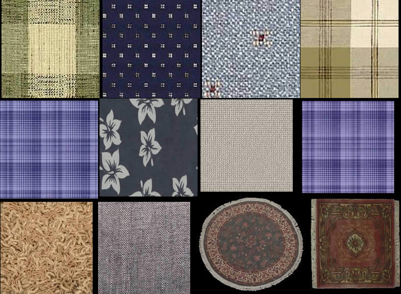 Fabrics for textures