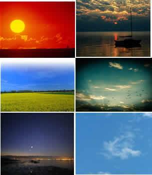 Cielos y Backgrounds