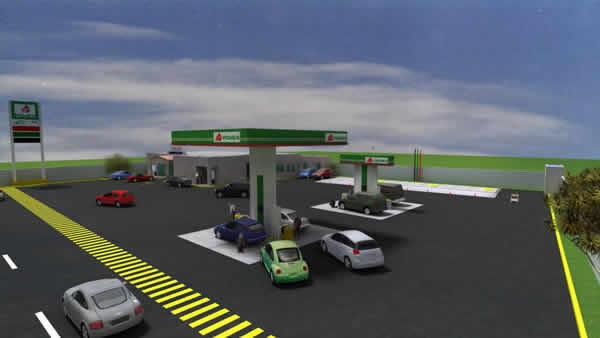 Service Station -  (Gas Station)