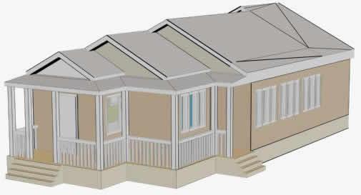 Residence in 3d
