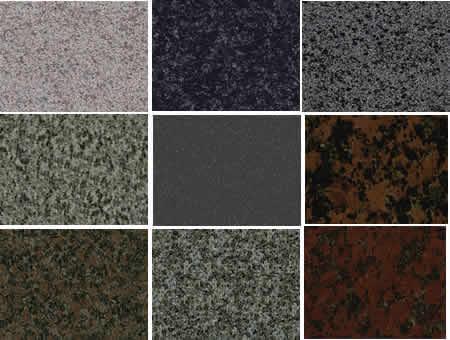 Texturas de granito
