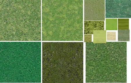 Texturas de Pasto y Vegetacion