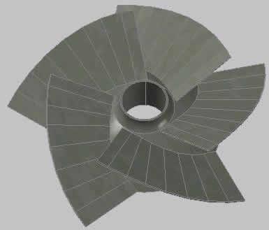 Impeller 3D
