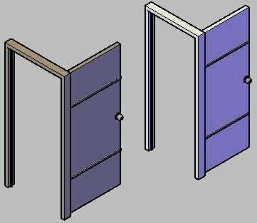 Doors in 3D