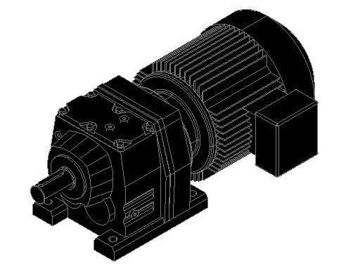 Sew Motor 3d In Autocad Download Cad Free 302 64 Kb