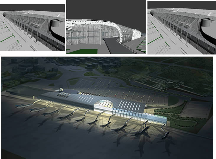Airport 3d