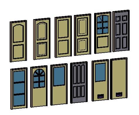 Doors 3d