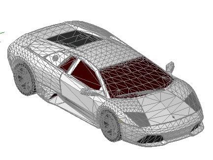 Lamborghini Murcielago 3d 3d Car In Autocad Cad 1 12 Mb