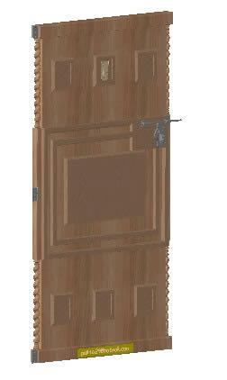Door knocker 3d