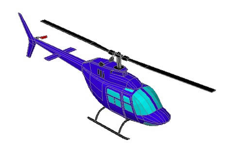 BELL 206 3D - Helicopter