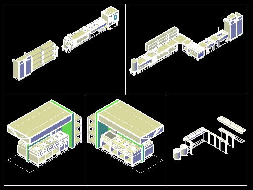 Layout Design For A Commercial Kitchen 1 27 Mb Bibliocad