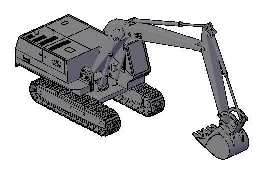 Maqiuna excavator