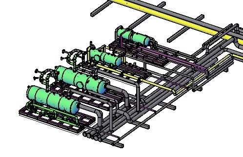 SEPARADORES DE GAS - 3d