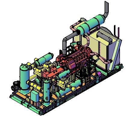 Air Compressor In Autocad Cad Download 8 38 Mb Bibliocad