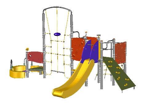 Casa De Juegos Infantil Parque En Autocad Cad 344 Mb Bibliocad - Casa-de-juegos-infantiles