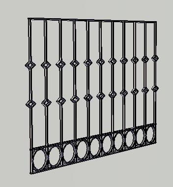 3D balconies - GRILLE BALCONY