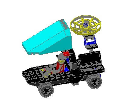 Carro tipo lego