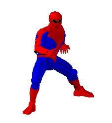 Hombre araña en 3D