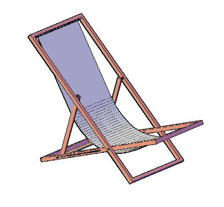 beach chair in autocad cad download 58 76 kb bibliocad