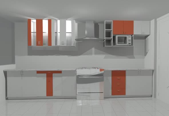 Cocina en 3d