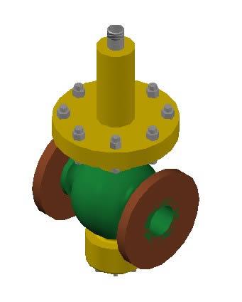 Pressure reducing valve in AutoCAD | Download CAD free