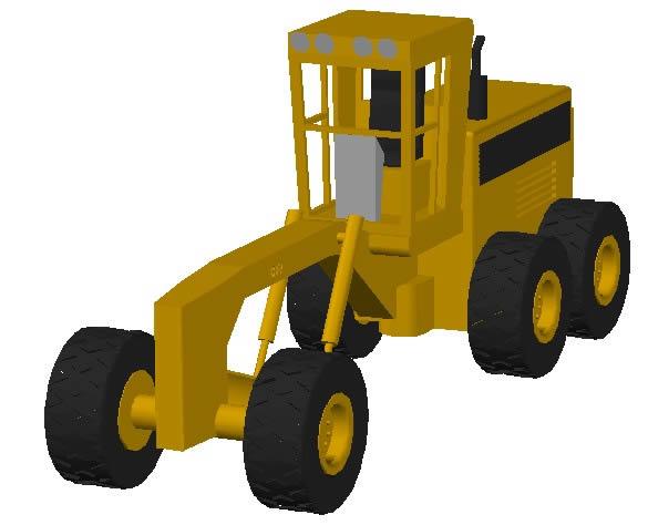 Motoniveladora 3d
