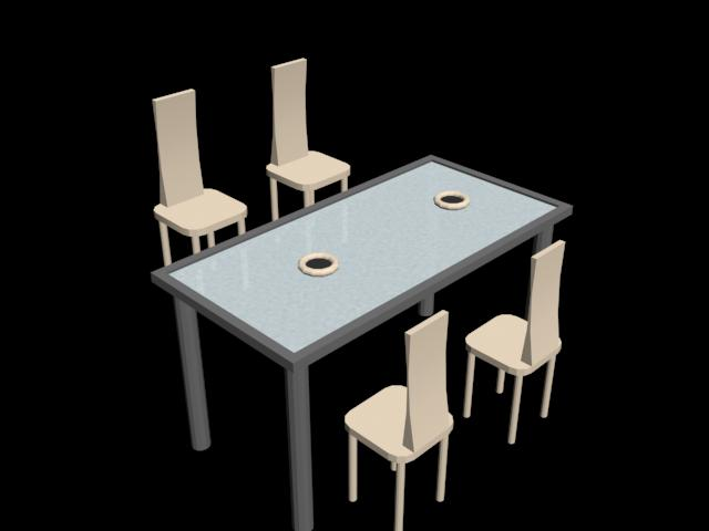 table and chair living 3d in autocad cad  56 49 kb