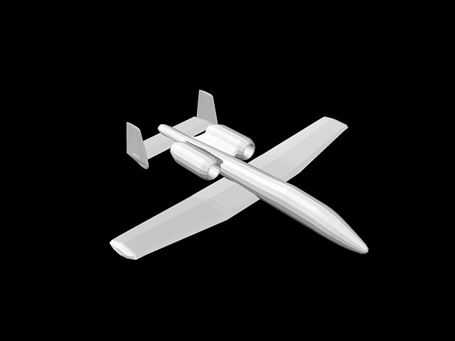 Airplane 3d in AutoCAD | CAD download (78 5 KB) | Bibliocad