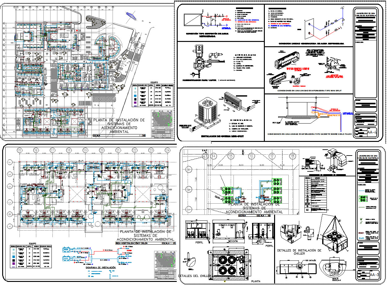 Hospital Air Conditioning System In Autocad Cad 497 Mb Hvac Duct Drawing Pin It
