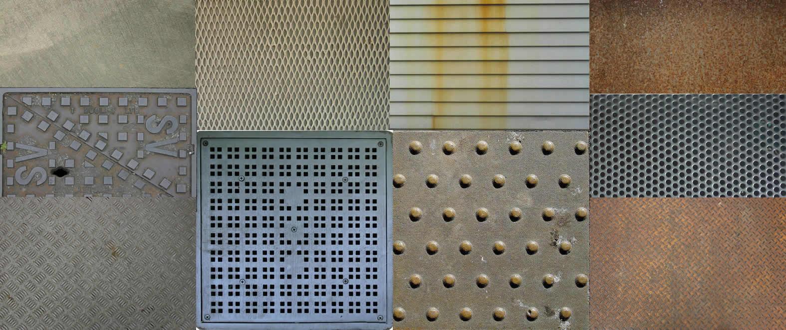 Textura metales