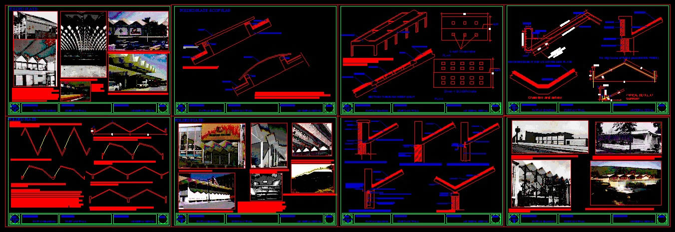 Folded Plate In Autocad Cad Download 29 05 Mb Bibliocad
